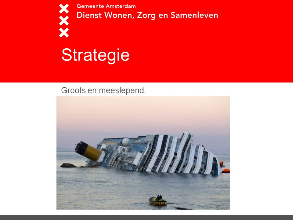 Strategie Groots en meeslepend.