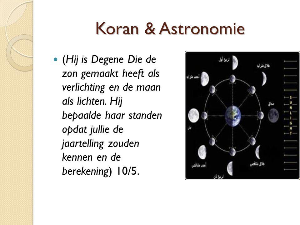 Koran & Astronomie