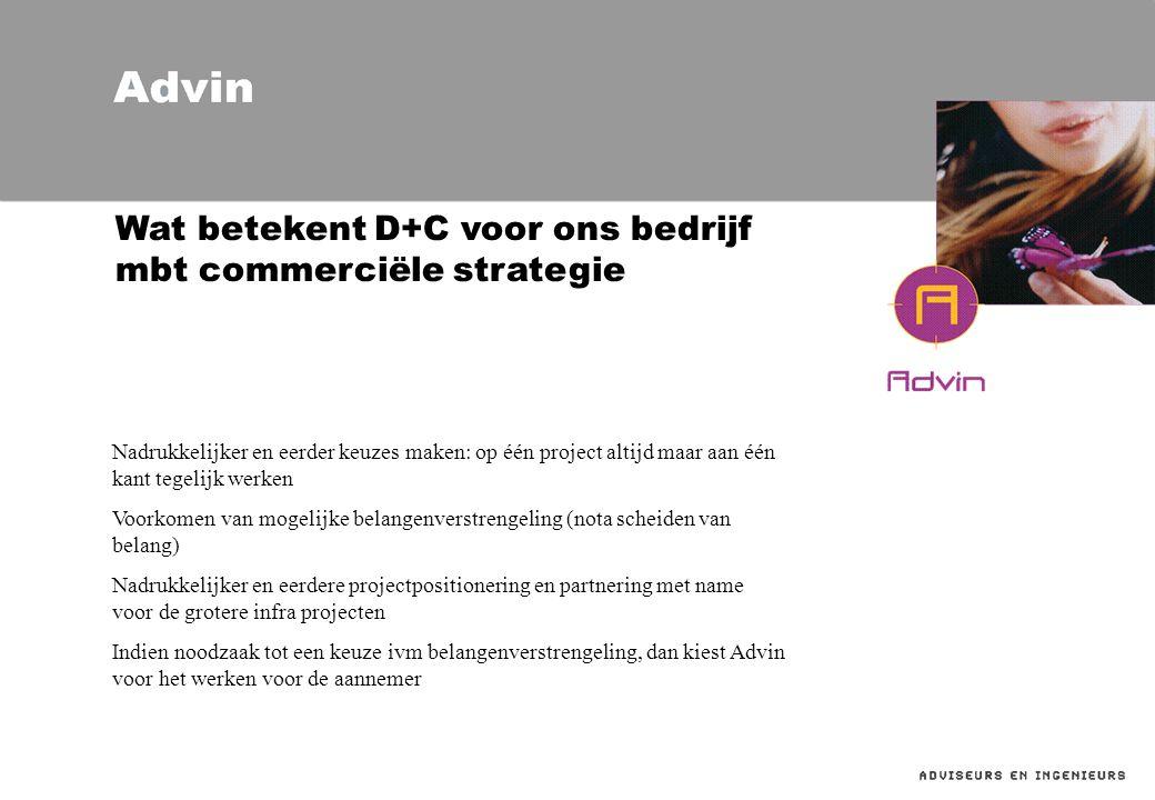 Wat betekent D+C voor ons bedrijf mbt commerciële strategie