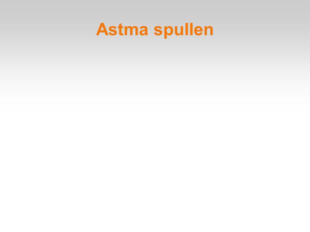 Astma spullen
