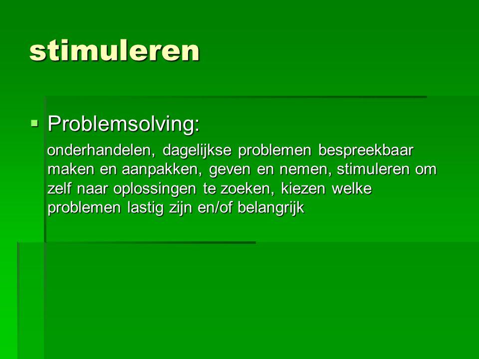 stimuleren Problemsolving:
