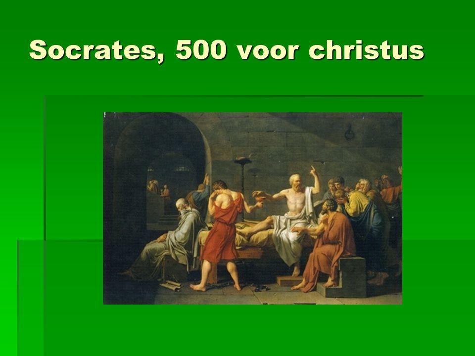 Socrates, 500 voor christus