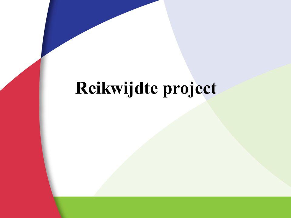 Reikwijdte project Toelichtende tekst: