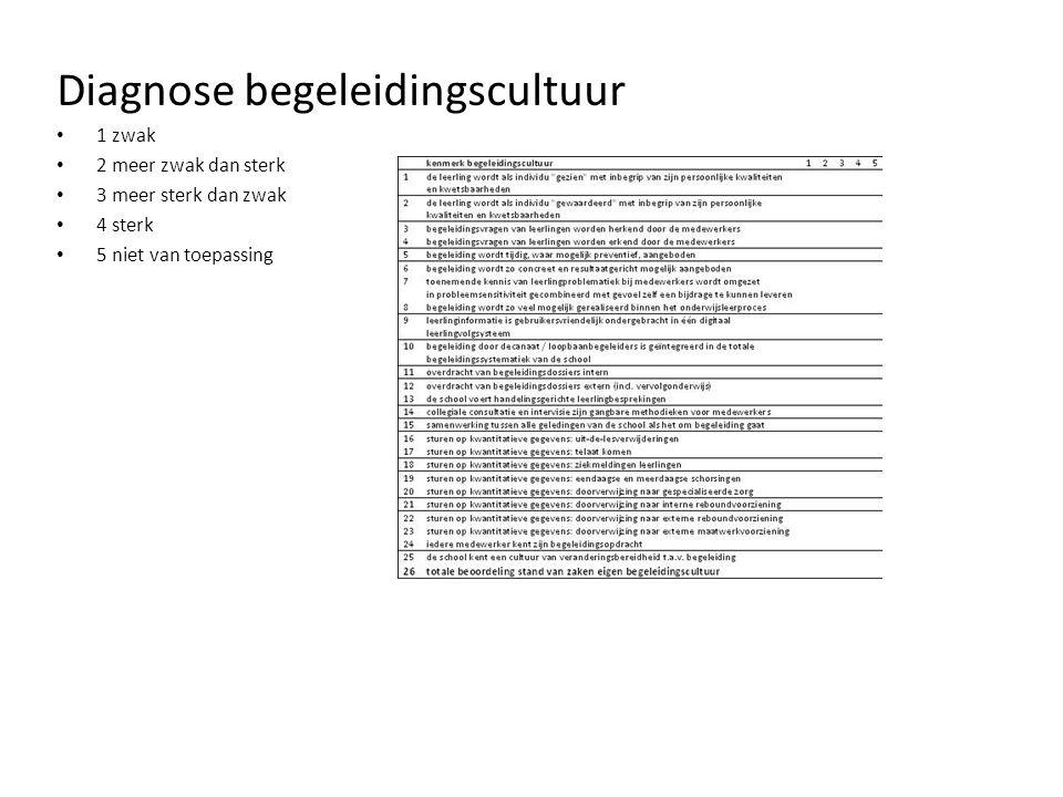 Diagnose begeleidingscultuur