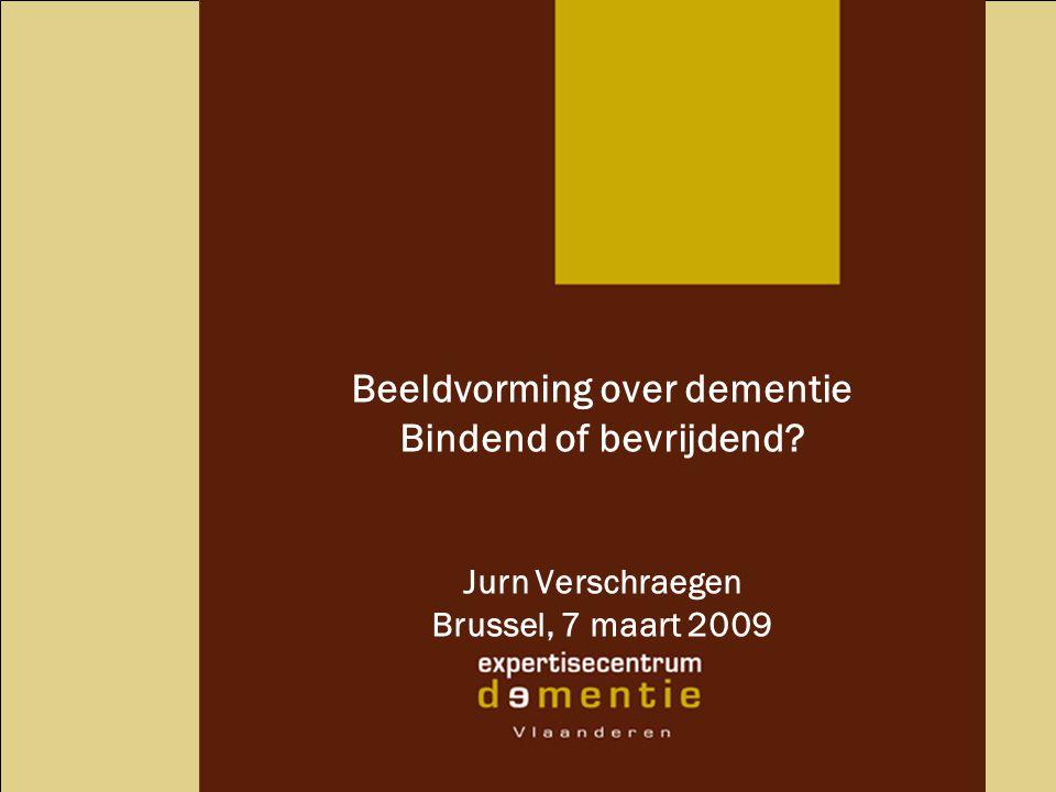 Beeldvorming over dementie