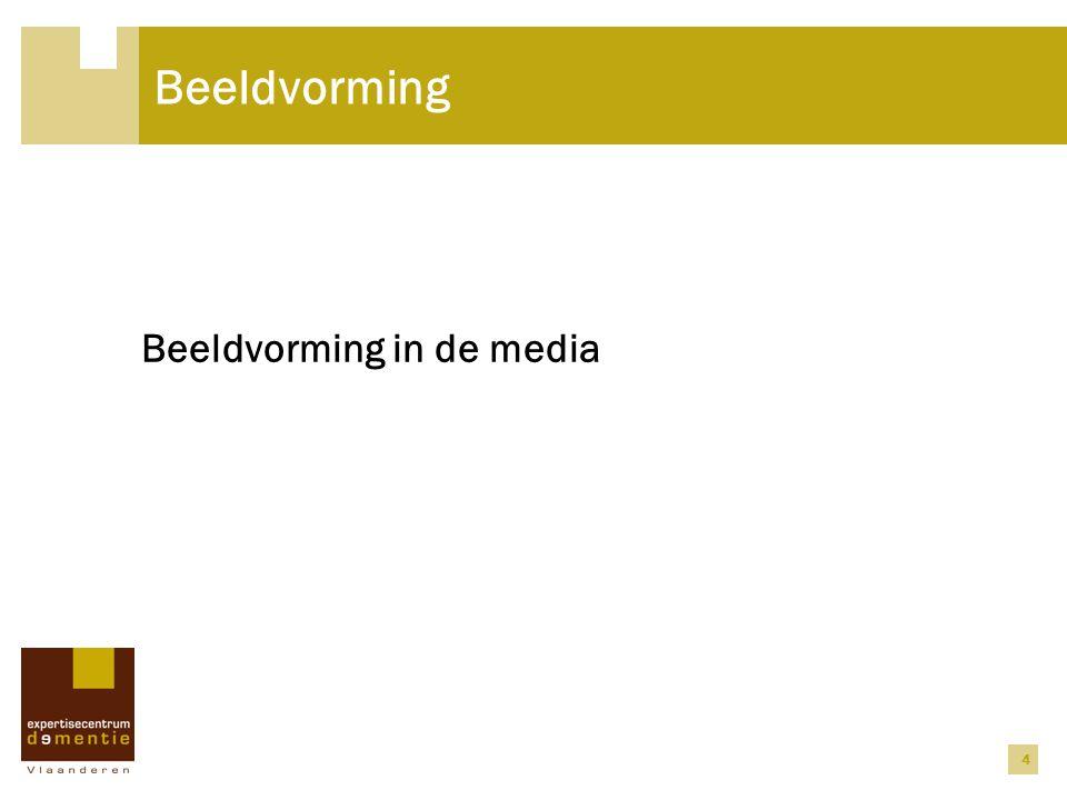 Beeldvorming Beeldvorming in de media