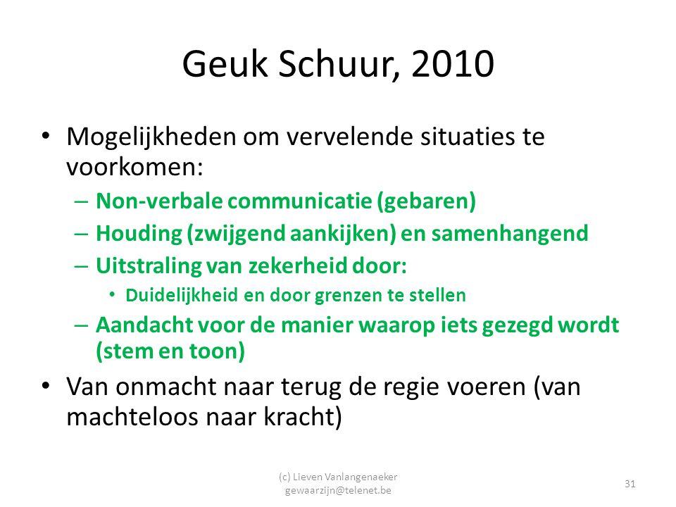 (c) Lieven Vanlangenaeker gewaarzijn@telenet.be