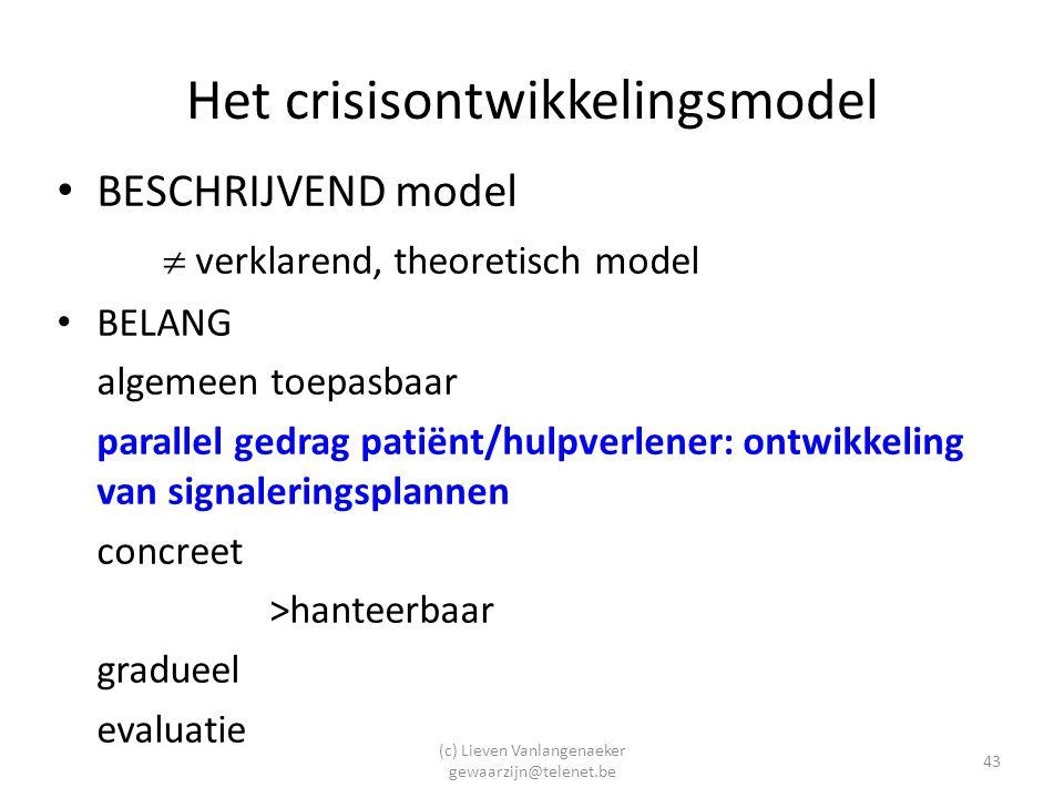 Het crisisontwikkelingsmodel