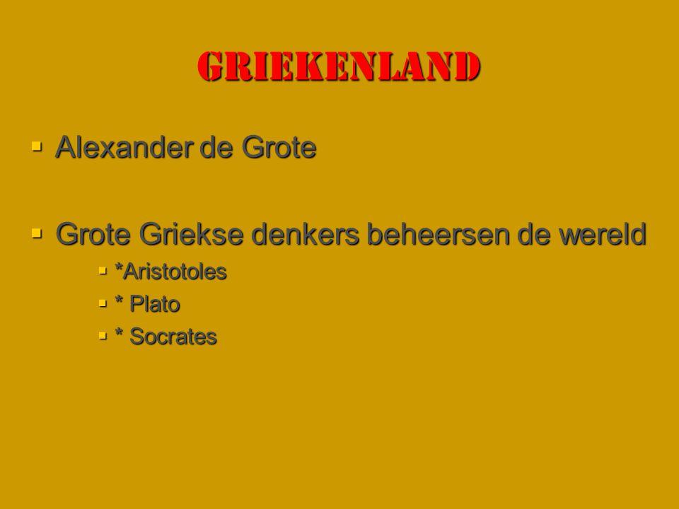 GRIEKENLAND Alexander de Grote