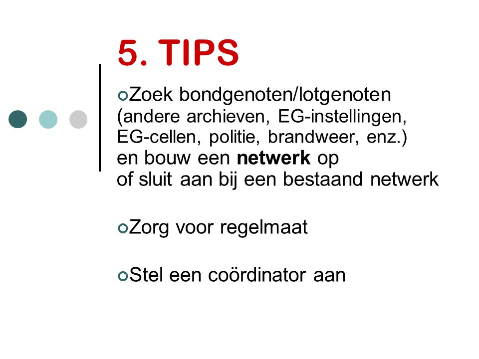 5. TIPS