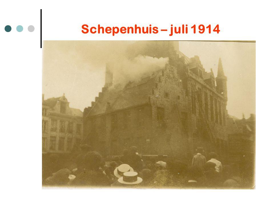 Schepenhuis – juli 1914