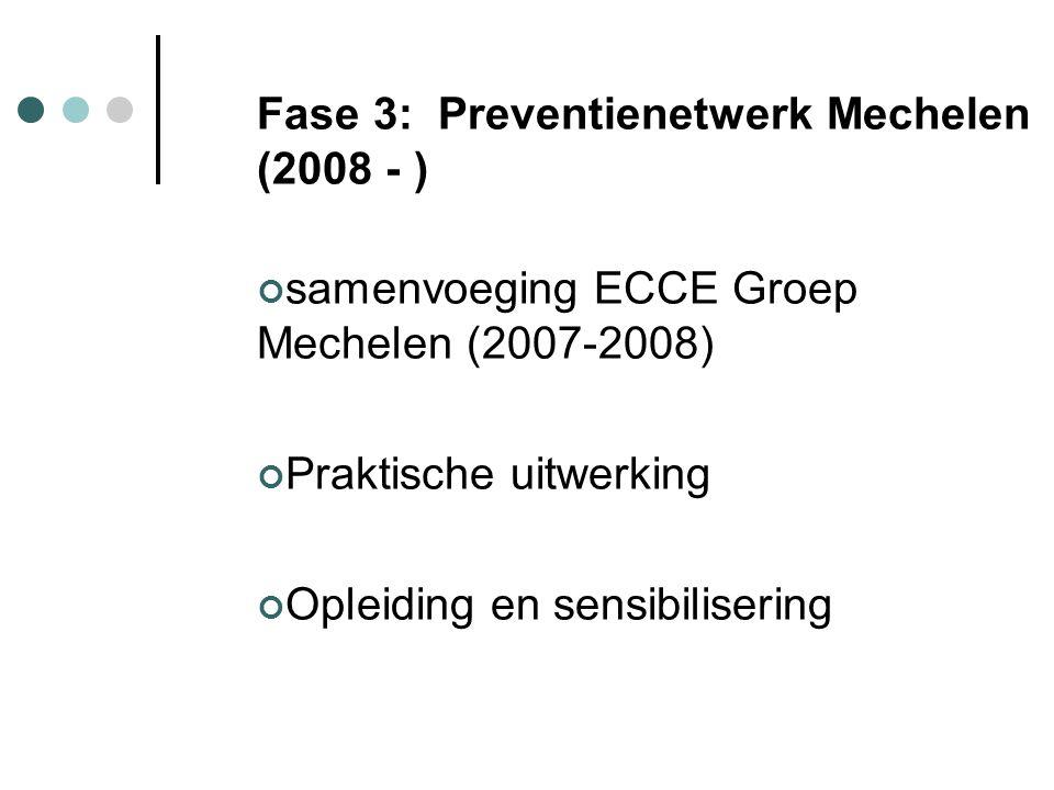 Fase 3: Preventienetwerk Mechelen (2008 - )