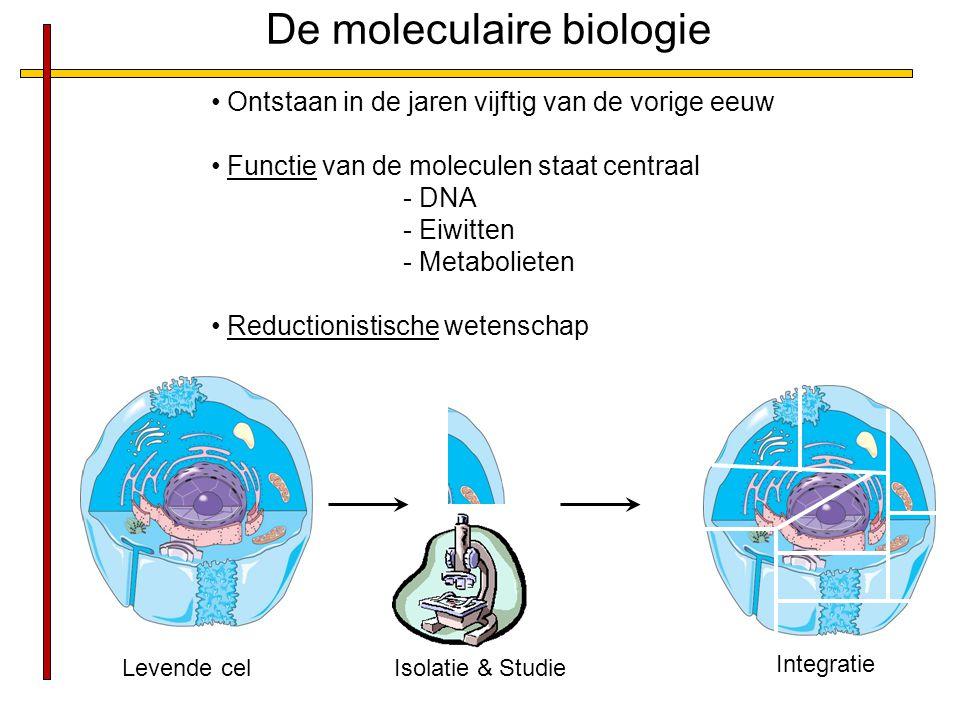 De moleculaire biologie