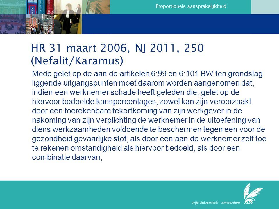 HR 31 maart 2006, NJ 2011, 250 (Nefalit/Karamus)