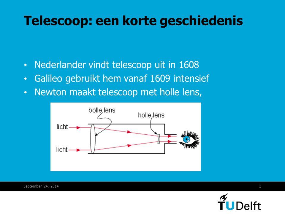 Telescoop: een korte geschiedenis