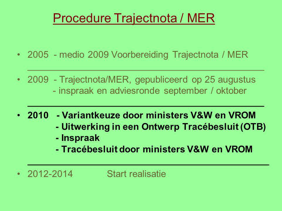 Procedure Trajectnota / MER