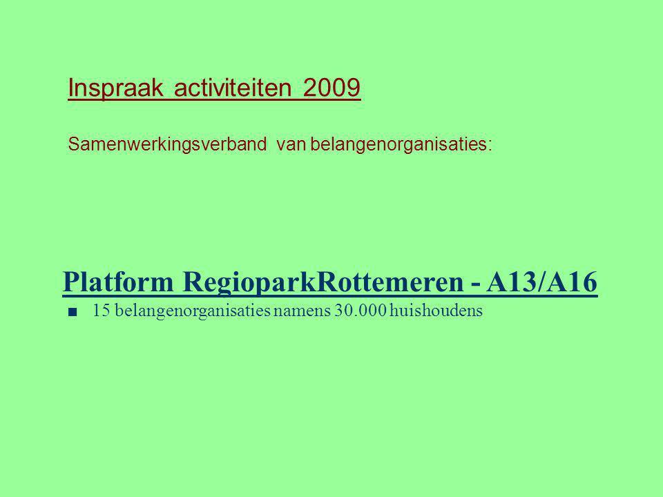 Platform RegioparkRottemeren - A13/A16