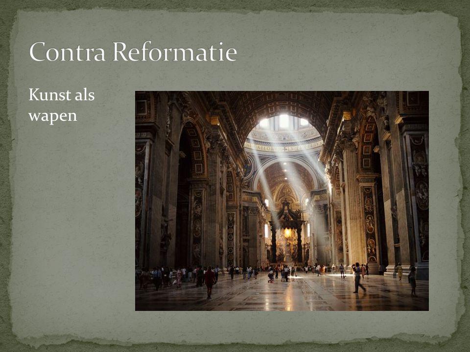 Contra Reformatie Kunst als wapen