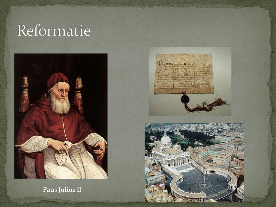 Reformatie Paus Julius II