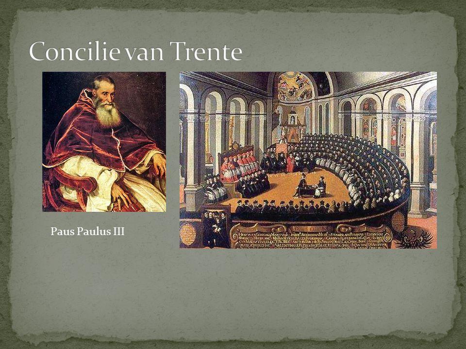 Concilie van Trente Paus Paulus III