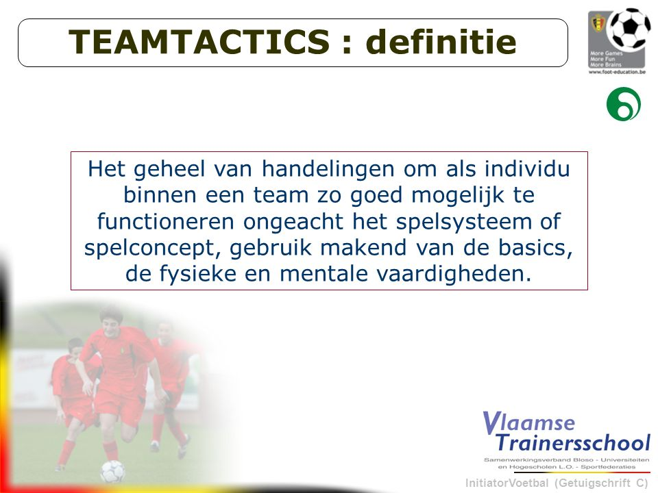 TEAMTACTICS : definitie