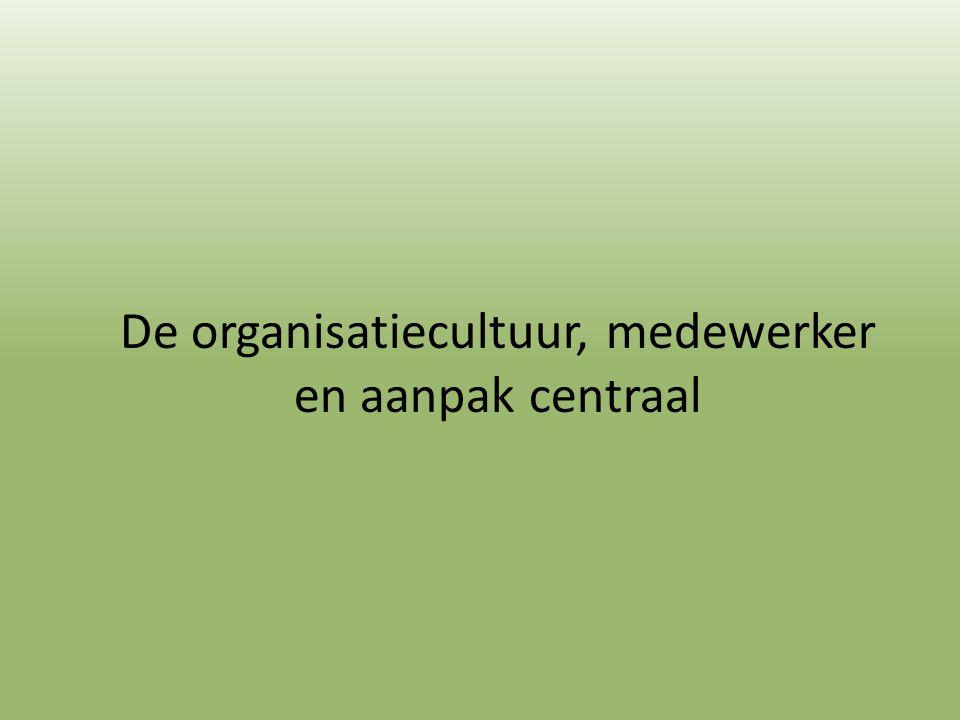 De organisatiecultuur, medewerker en aanpak centraal