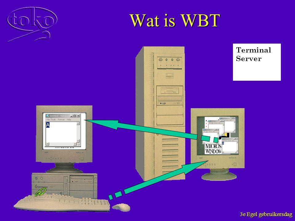Wat is WBT Terminal Server