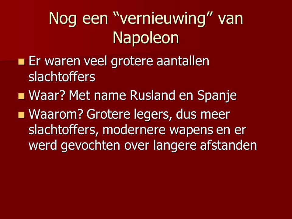 Nog een vernieuwing van Napoleon