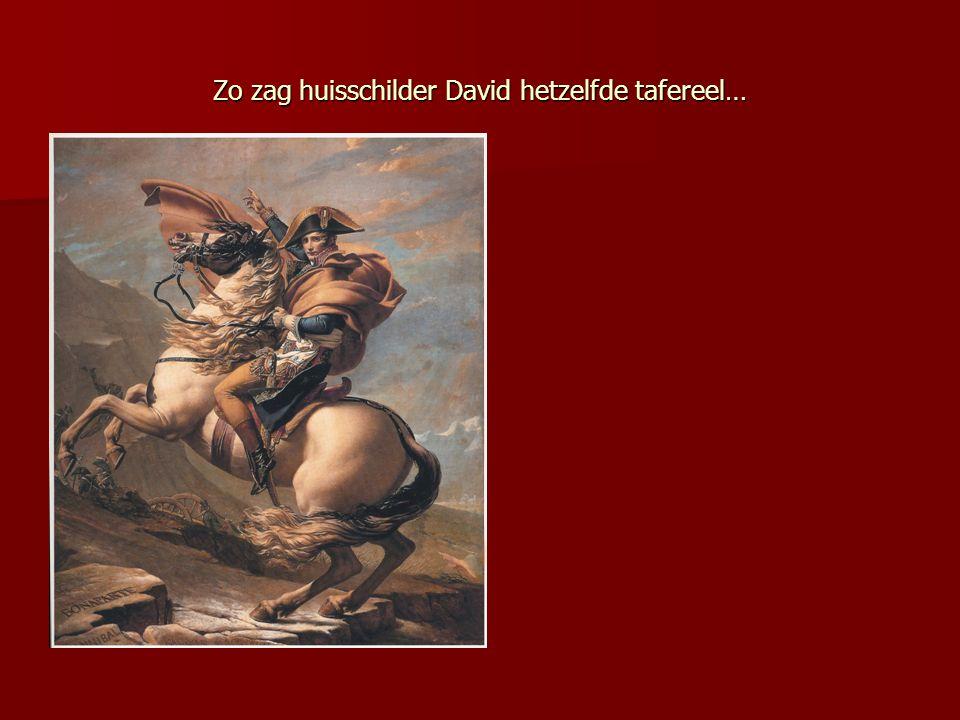 Zo zag huisschilder David hetzelfde tafereel…