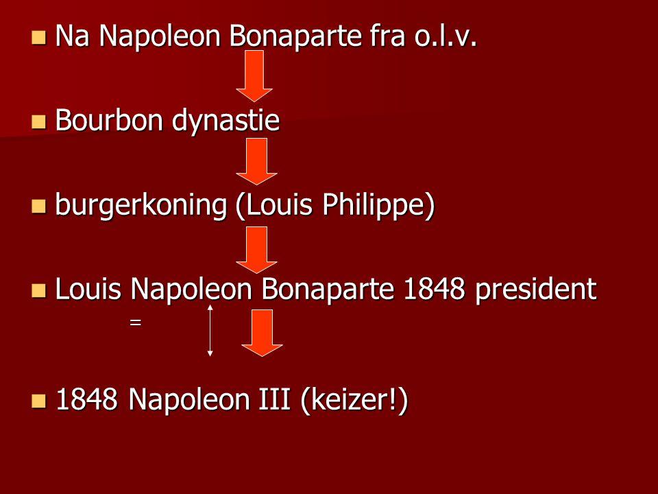 Na Napoleon Bonaparte fra o.l.v. Bourbon dynastie