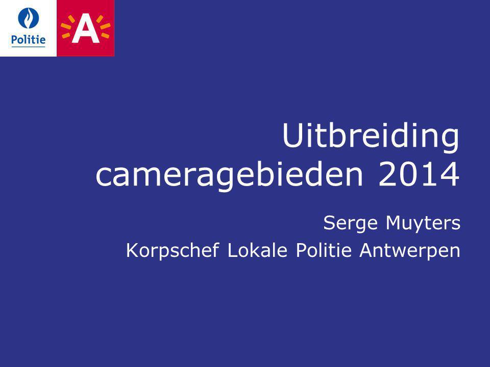 Uitbreiding cameragebieden 2014