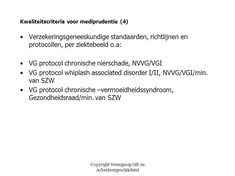 Kwaliteitscriteria voor mediprudentie (4)