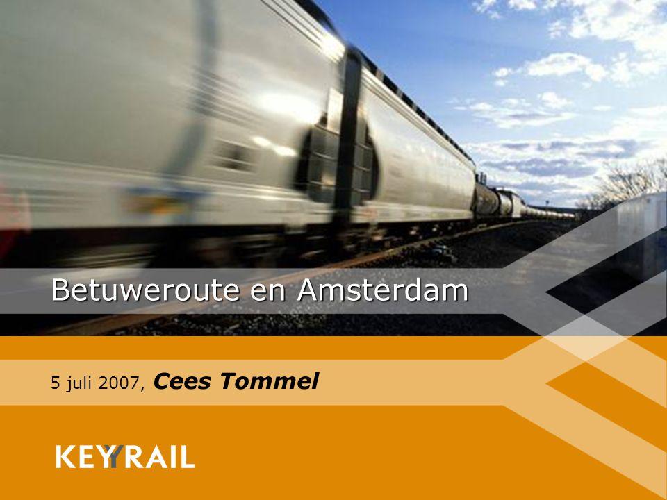 Betuweroute en Amsterdam