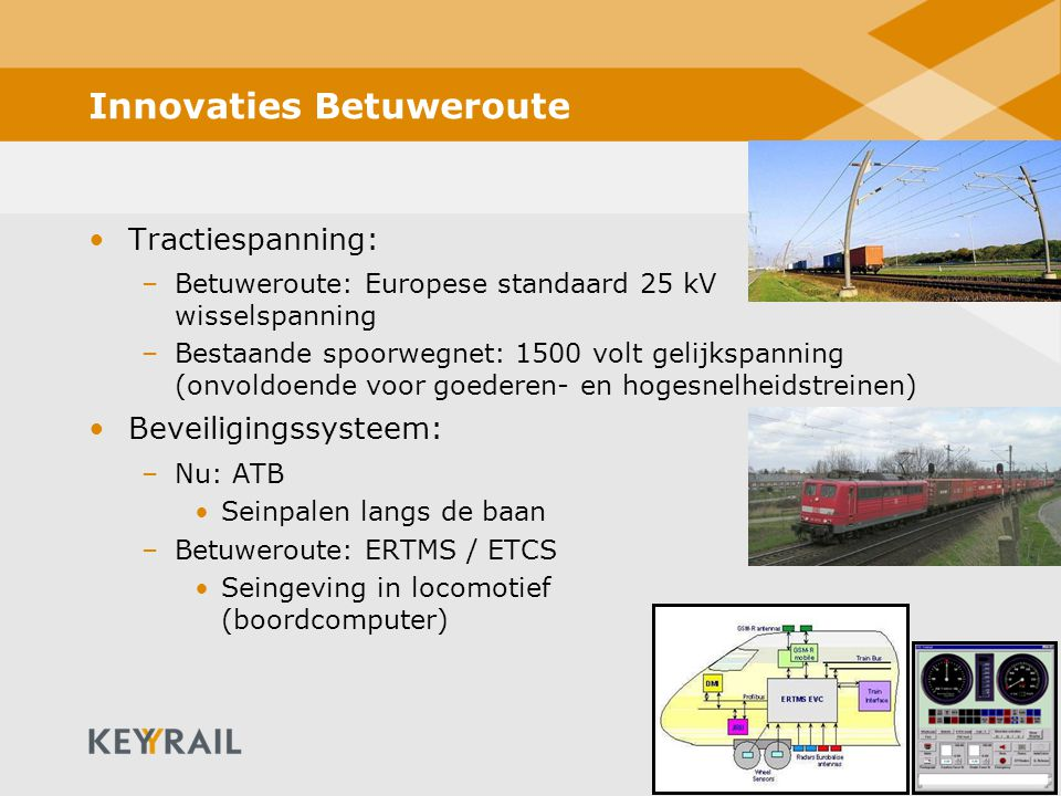 Innovaties Betuweroute