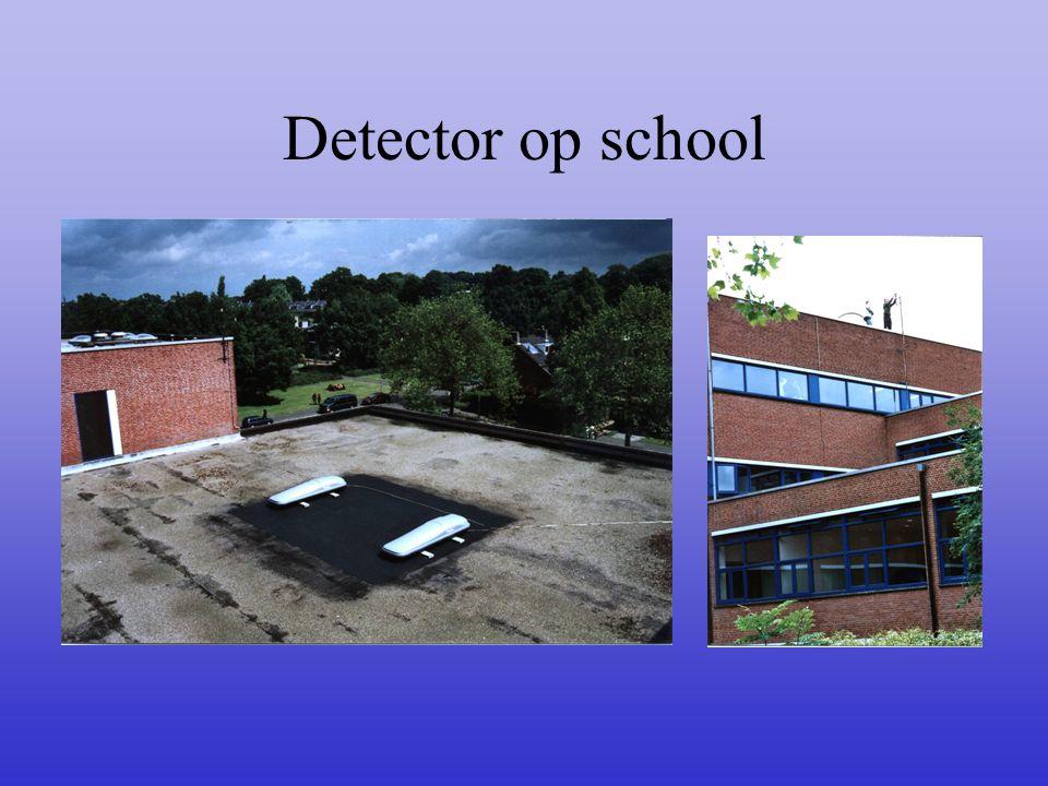 Detector op school