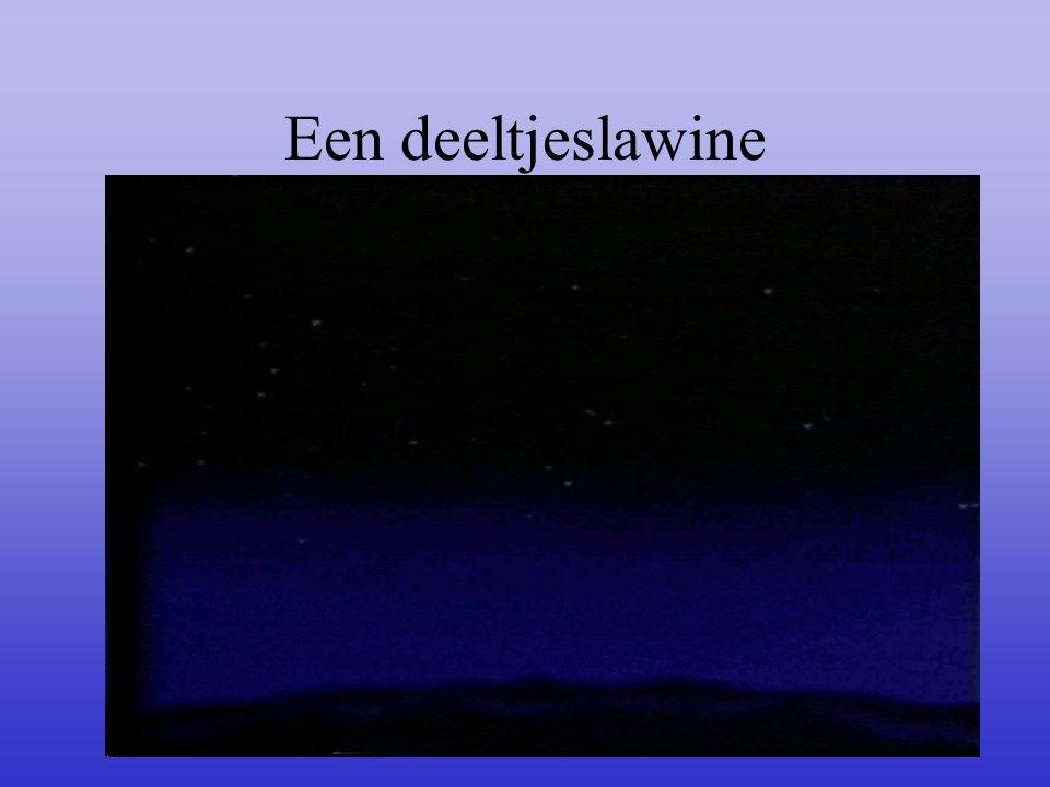 Een deeltjeslawine