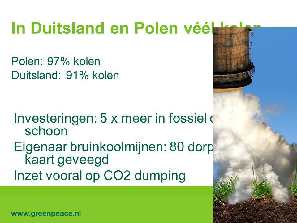 In Duitsland en Polen véél kolen