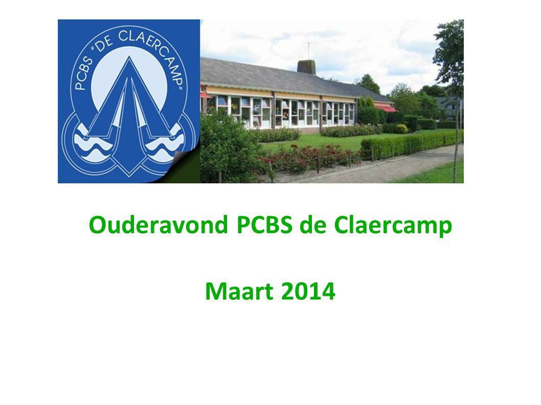 Ouderavond PCBS de Claercamp Maart 2014