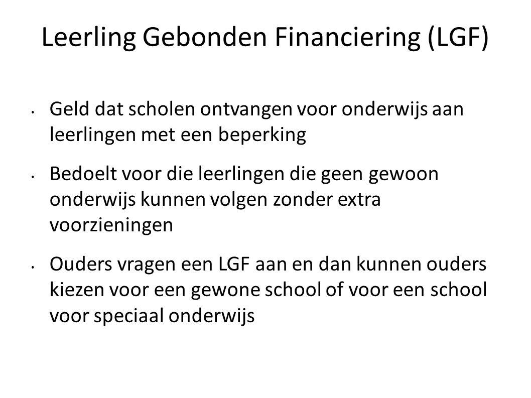 Leerling Gebonden Financiering (LGF)