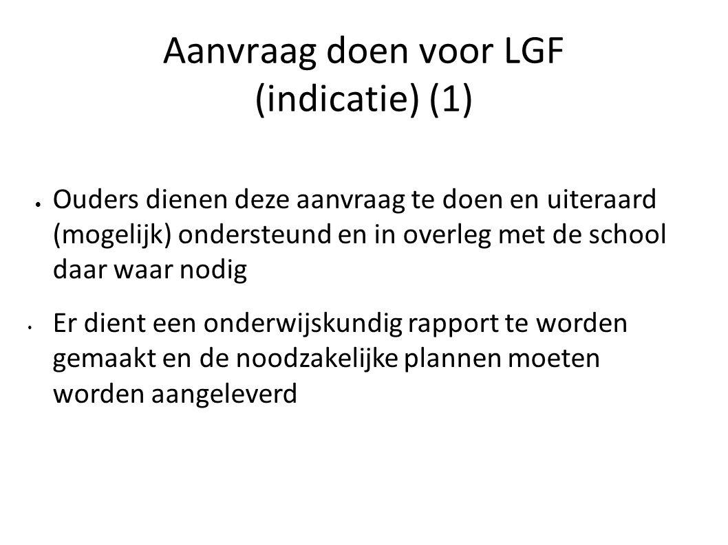 Aanvraag doen voor LGF (indicatie) (1)