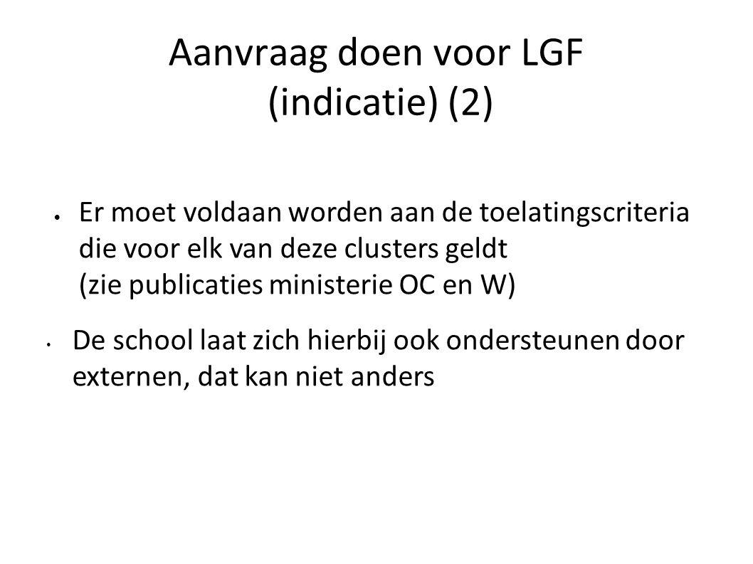 Aanvraag doen voor LGF (indicatie) (2)