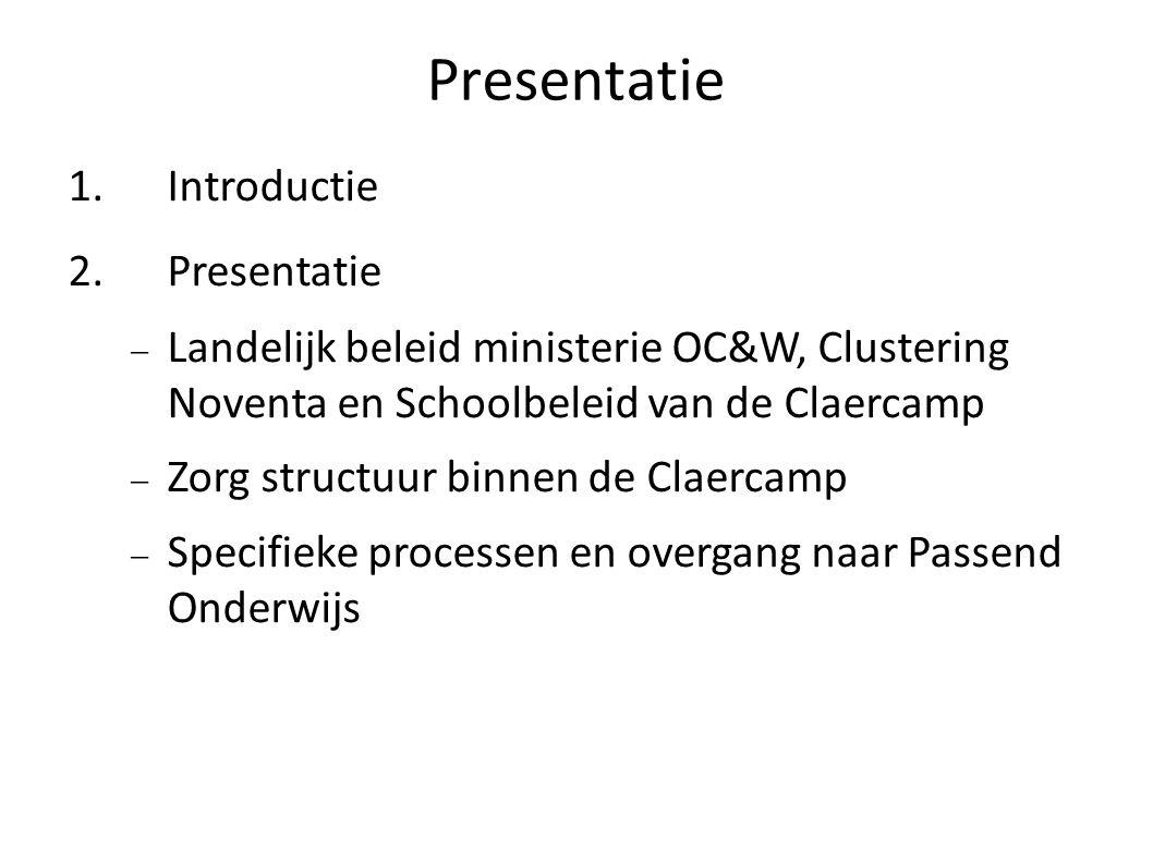 Presentatie Introductie Presentatie