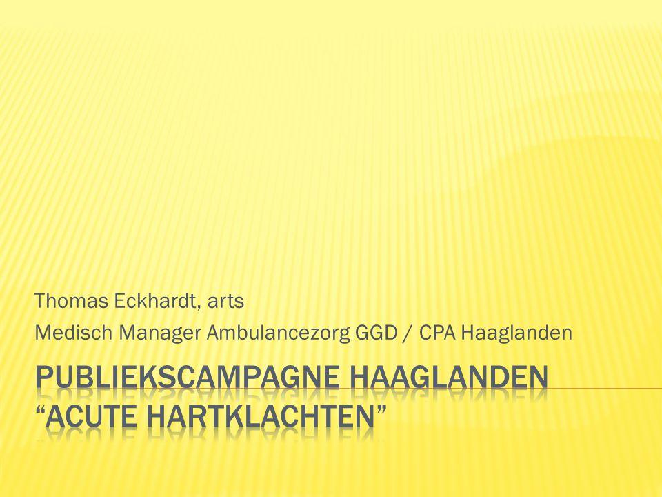 Publiekscampagne Haaglanden Acute hartklachten