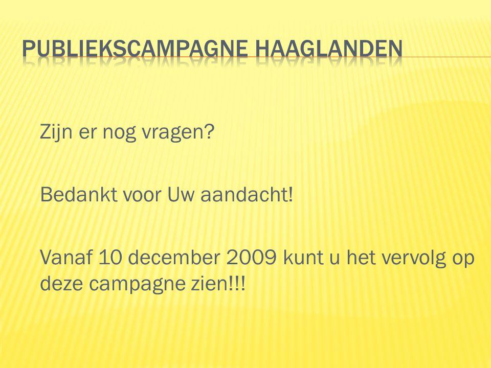 Publiekscampagne Haaglanden