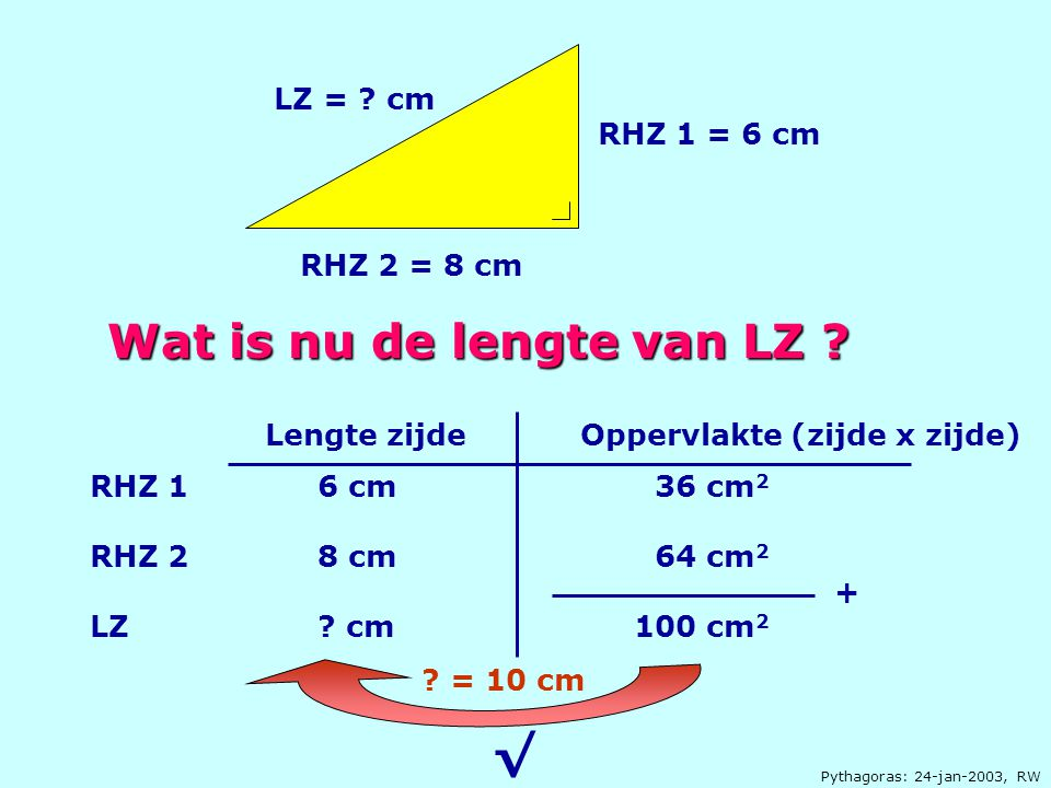 Wat is nu de lengte van LZ