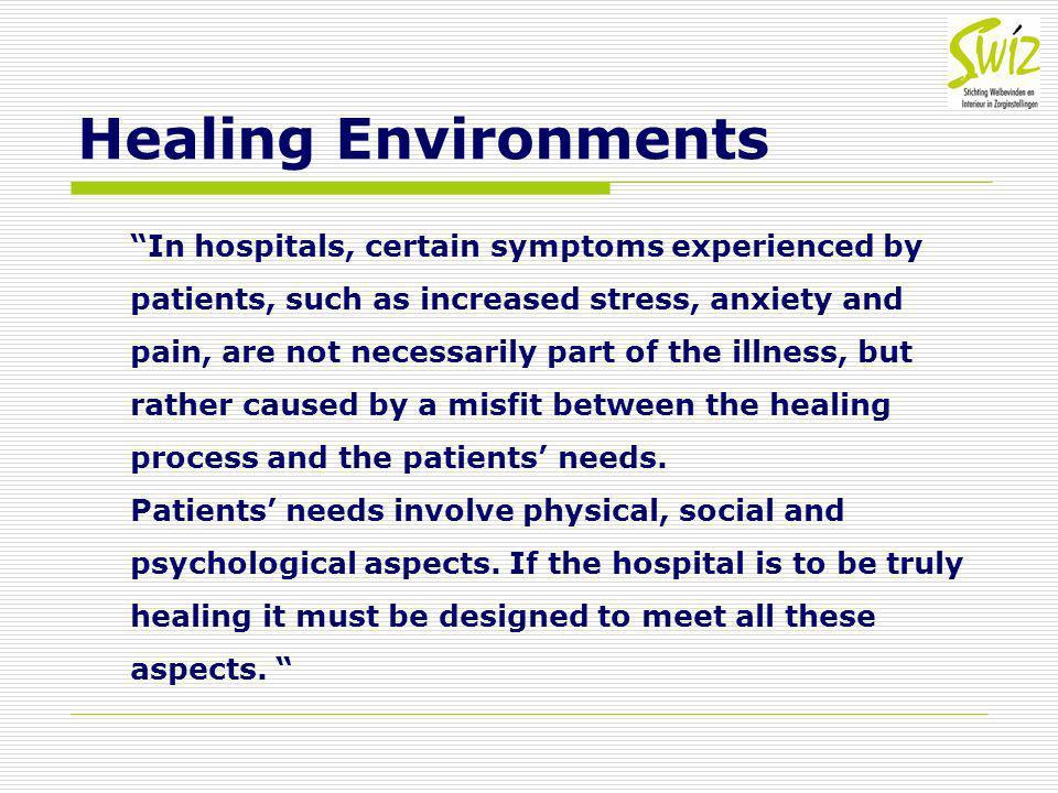 Healing Environments