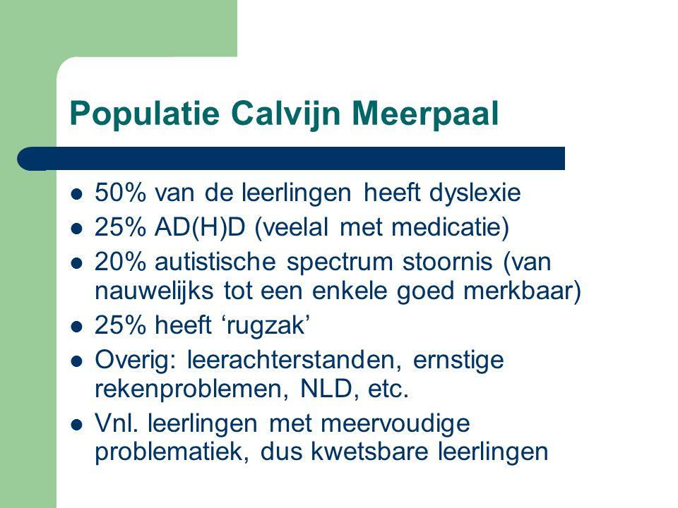 Populatie Calvijn Meerpaal