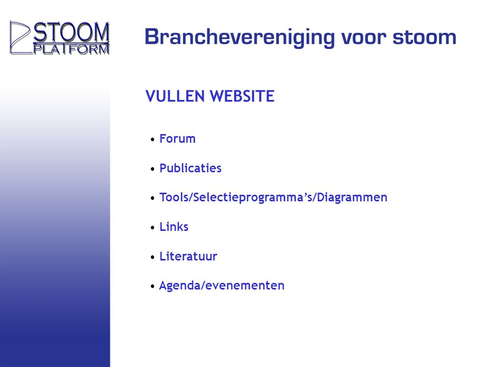 VULLEN WEBSITE Forum Publicaties Tools/Selectieprogramma's/Diagrammen