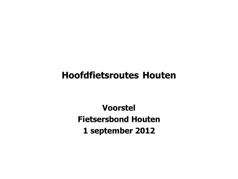Hoofdfietsroutes Houten