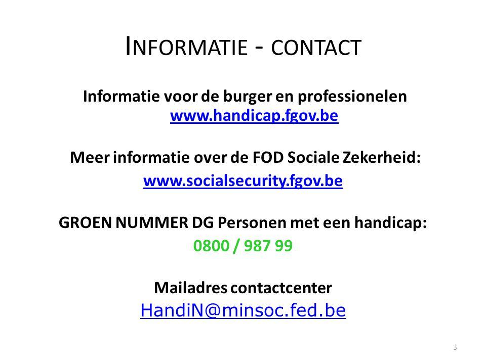 Informatie - contact